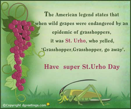 Dgreetings - Send this card to everyone on this St. Urho's Day.