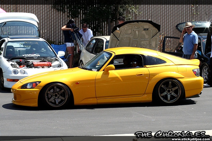 JDM =  Japanese Domestic Market car - this is a beautiful Honda S2K - so i'm told....nice isn't it