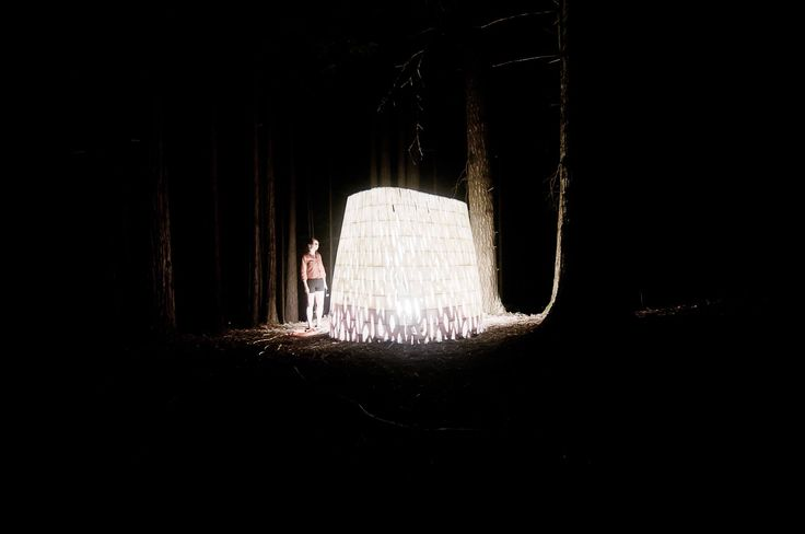 """Echoviren made by Smith Allen studio is entirely 3D printed pavilion which is made of over 500 interlocking components made from PLA bio-plastic. It means that it will decompose back naturally within 30-50 years. Meanwhile it will become a micro-habitat for insects, moss and birds. """"Echoviren exposes an ecosystem of dynamic natural and unnatural interventions: the interplay of man and nature moderated by technology over the centuries."""""""