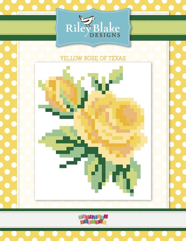 Yellow Rose of Texas Free Quilt Project