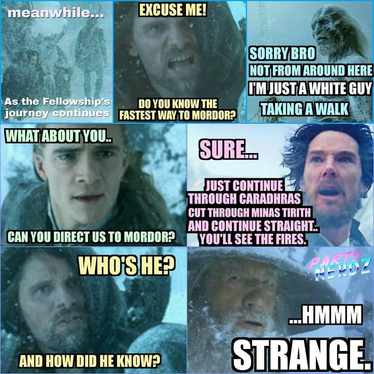 LOTR - Game of Thrones - Doctor Strange