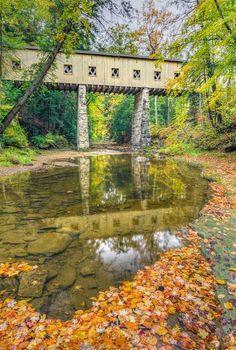 #Covered #Bridge in #Ohio    http://dennisharper.lnf.com/