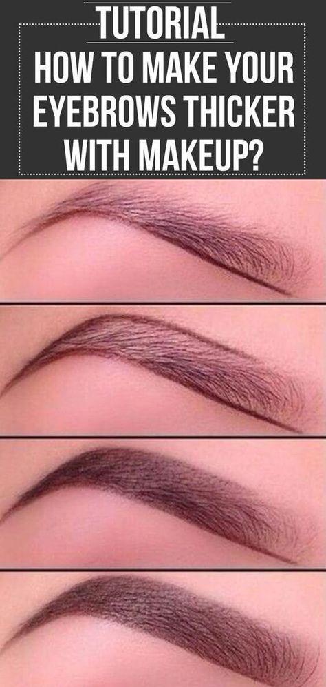 25 Schritt-für-Schritt-Anleitungen für Augenbrauen, um Ihren Look zu perfektionieren – Maquiagem