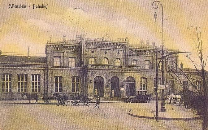 Olsztyn - Railway station
