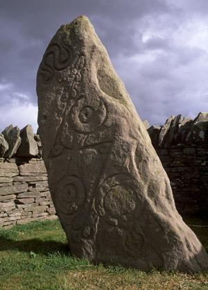 Examples of Pictish symbols found in Scotland (Image: Patrick Dieudonne/Robert Harding/Rex Features)