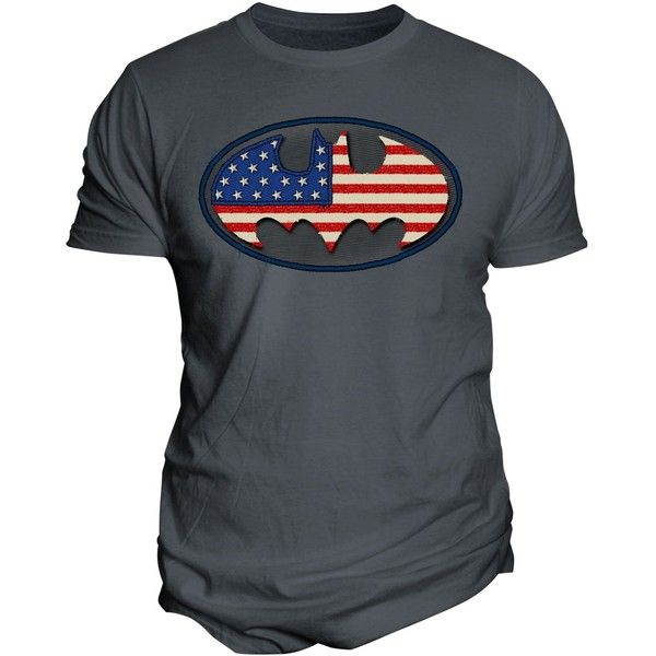 Changes Men's Batman American Flag Graphic-Print T-Shirt (76 BRL) ❤ liked on Polyvore featuring men's fashion, men's clothing, men's shirts, men's t-shirts, charcoal, mens american flag t shirt, mens american flag shirt, mens faux leather shirt, mens graphic t shirts and mens t shirts