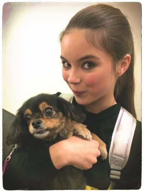 Pretty Picture Of Landry Bender With Pixie September 7, 2014