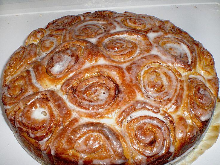 Geheime Rezepte: Zimtrollen Kuchen