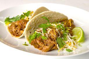 Crowd-Pleasing Slow-Cooker Shredded Pork Tacos Recipe - Kraft Recipes