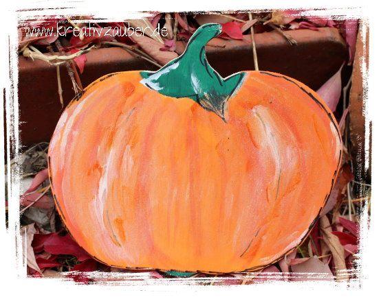 Uhrzeiger basteln vorlage  51 besten Herbstdekoration basteln Bilder auf Pinterest ...