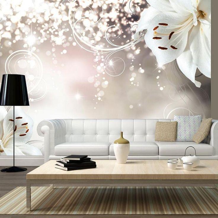 vlies fototapete blumen xxl wandbild fototapeten 3d. Black Bedroom Furniture Sets. Home Design Ideas