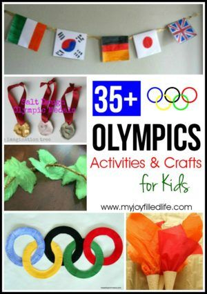 Olympics Activities and Crafts for Kids