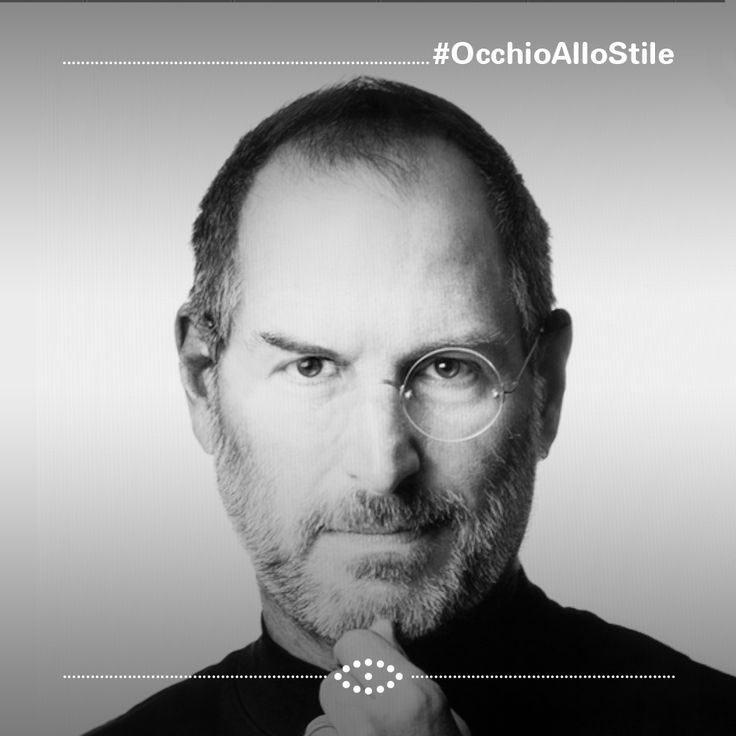 """Steve Jobs, 2005: """"Il vostro tempo è limitato quindi non sprecatelo vivendo la vita di qualcun altro. Siate affamati, siate folli, perché solo coloro che sono abbastanza folli da pensare di poter cambiare il mondo... lo cambiano davvero"""" #OcchioalloStile #glasses #occhi #eyes #occhiali #computer #stevejobs #apple"""