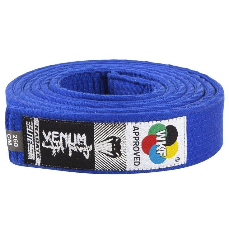 Cinturon Karate Venum WKF Homologado Azul - €22.99   https://soloartesmarciales.com    #ArtesMarciales #Taekwondo #Karate #Judo #Hapkido #jiujitsu #BJJ #Boxeo #Aikido #Sambo #MMA #Ninjutsu #Protec #Adidas #Daedo #Mizuno #Rudeboys #KrAvMaga #Venum