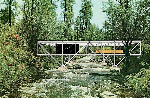fueradeltiempo: bridge house, craig ellwood, 1968