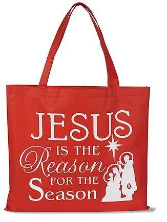 Jesus is the Reason… Christmas Tote Bag