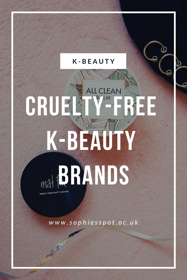Crueltyfree KBeauty Brands K beauty, Korean beauty