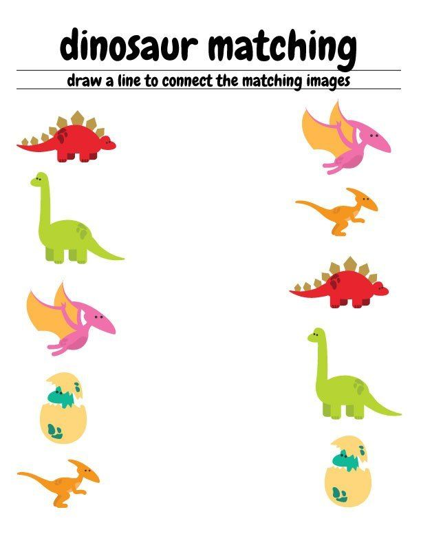 Free Dinosaur Preschool Worksheets – The B Keeps Us Honest Free Preschool  Worksheets, Dinosaurs Preschool, Preschool Worksheets