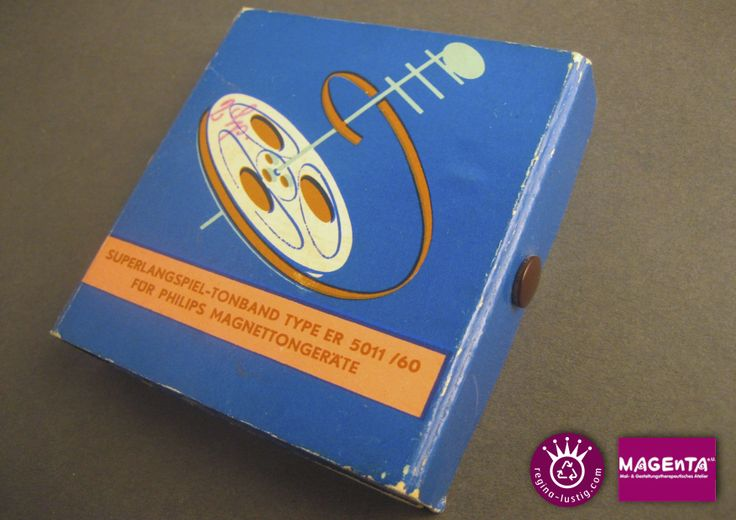 Magnetband-Buch Recycling