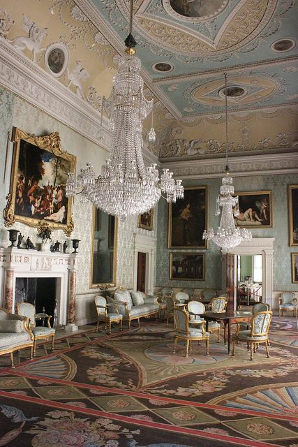 Saltram House Saloon (NT) 036 by Robert Slack, via Flickr