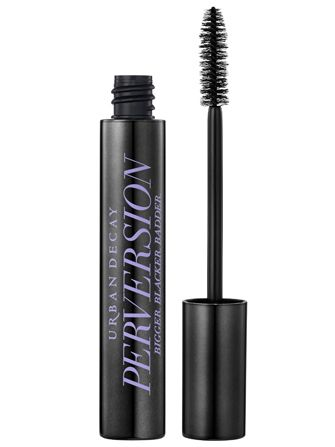 "Urban Decay Perversion Mascara is billed as being ""Bigger. Blacker. Badder."" And, boy, does it live up to that promise.  $22, available July 13 at Urban Decay ♡"
