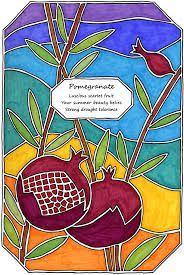 POMEGRANATE~stained glass pomegranate - Hledat Googlem