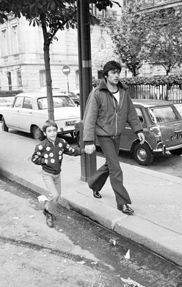 Alain Delon Qui Sont Ses Enfants Ari Boulogne Anthony Anouchka Et Alain Fabien Delon Delon Alain Delon Anthony Delon
