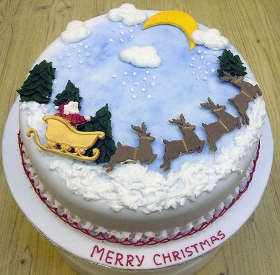 Christmas Cake Decoration Ideas Pinterest : Awesome Christmas Cake Decorating Ideas _42 Holidays ...