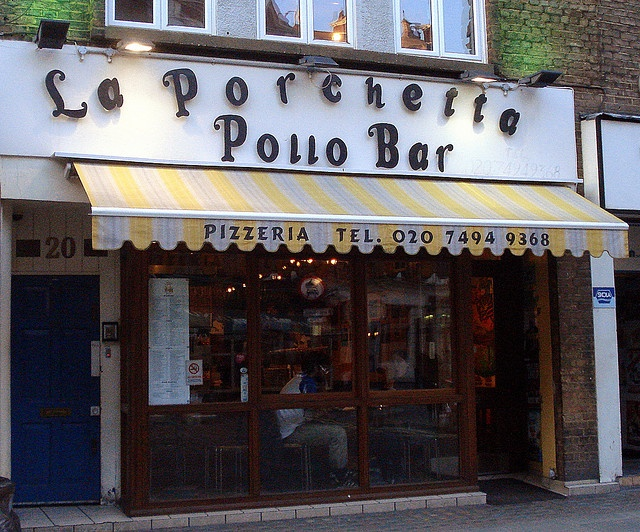 La Porchetta Pollo Bar, Soho, London W1