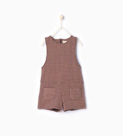 Image 2 of Jacquard pinafore dress from Zara