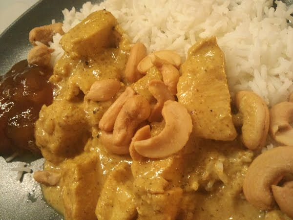 karibiens kök: Kyckling Korma to die for