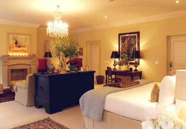 The suite where I stay in kurland hotel in south Africa ..one of the most romantic dreamy hotel I stayed