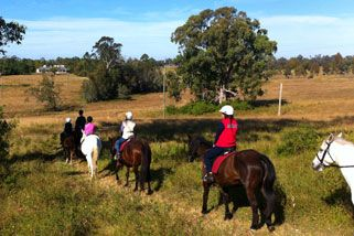 Horse Riding Trail Ride, Catherine Field, Sydney | RedBalloon
