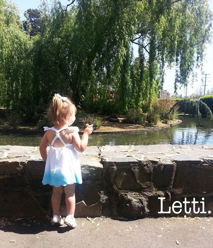 Our little Letti model has been out & about wearing Letti's popular 'Iris' Dress.  Feeding the ducks has never been so Glamorous!  Purchase 'Iris' at www.letti.com.au