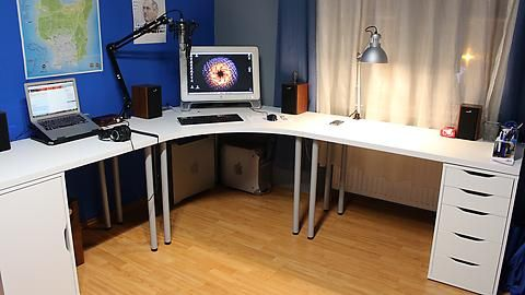 The desk home office renovation home office desk ikea office