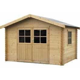 Caseta de madera Flodavil 8.68m²