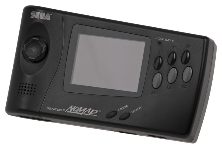 Nomad by Sega (Portable Genesis, not owned but wanted)