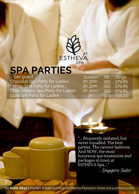 A Perfect Girls' Party Idea ] A spa party is always a great idea for