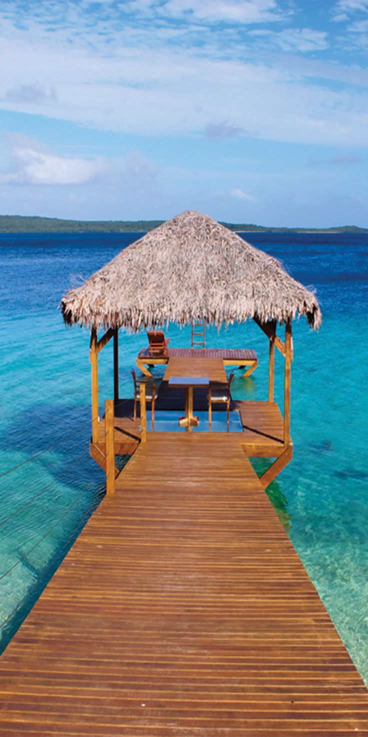 The perfect spot for relaxation in Vanuatu
