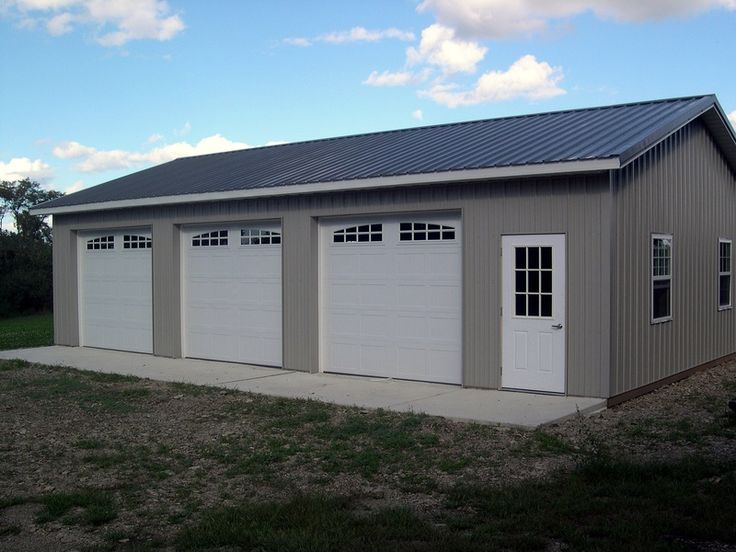 17 best images about garages on pinterest 3 car garage for 3 bay garage cost