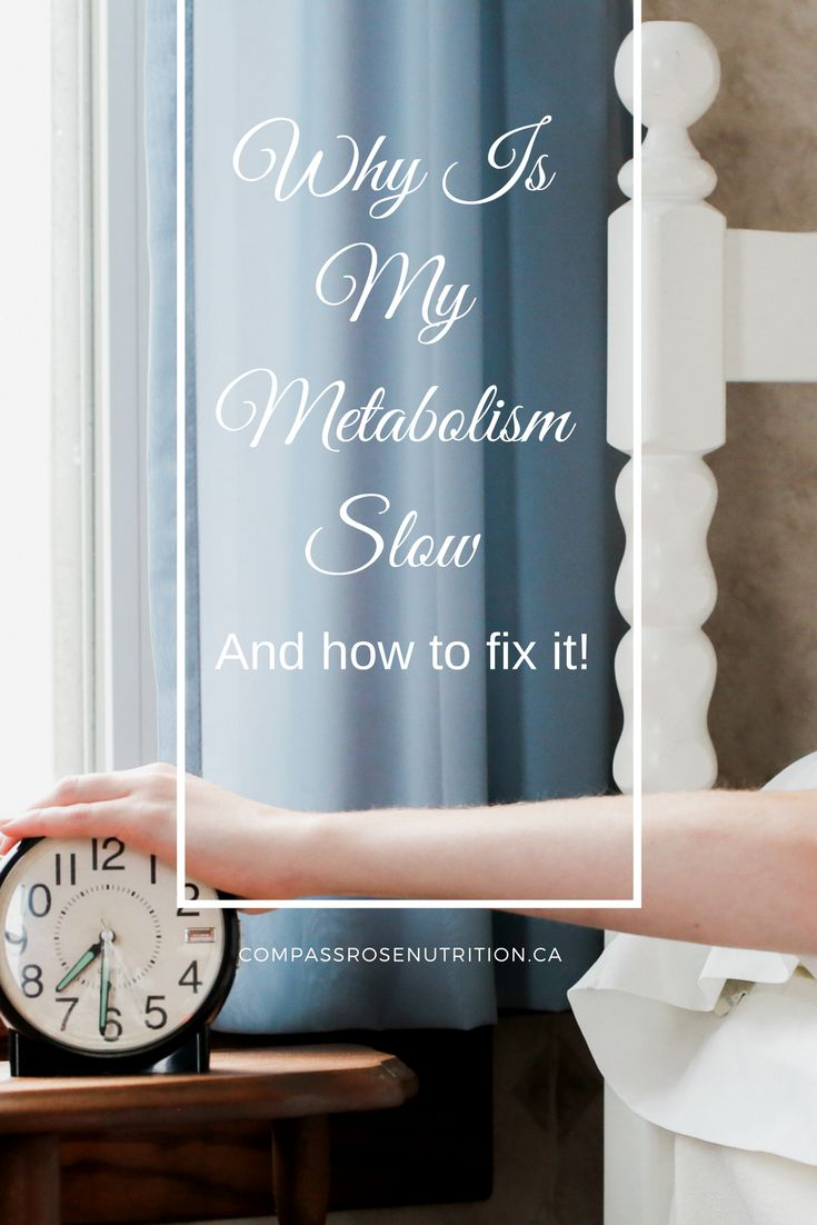 Why Is My Metabolism Slow. How to Fix Slow Metabolism with sleep, healthy eating and exercise. Boost your metabolism and lose weight.