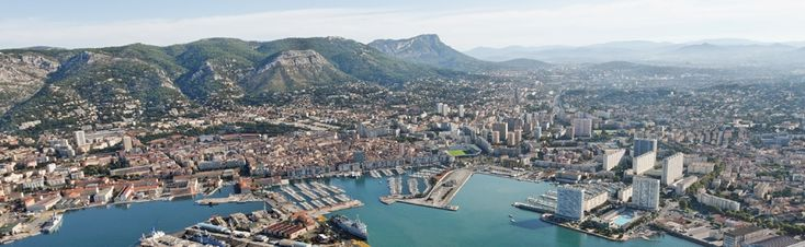 Costa Azul, Toulon (Tolon), Francia.
