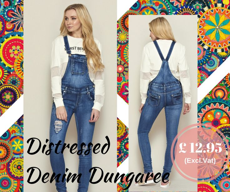 """""""Whether with a cami, a shirt or a crop top, a denim dungaree is as flexi as a jeans.  This and more at www.MaryJaneFashion.com  #fashion #style #stylish #love #TagsForLikes #me #cute #photooftheday #nails #hair #beauty #beautiful #instagood #instafashion #pretty #girly #pink #girl #girls #eyes #model #dress #skirt #shoes #heels #styles #outfit #purse #jewelry #shopping"""""""