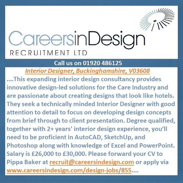 785 best interior design jobs images on pinterest - What degree do interior designers need ...