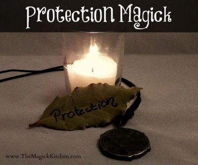 From The Magick kitchen - Let's start with the basics. Protective Magick, Personal Magickal Defense. Create your own personal protective barrier.