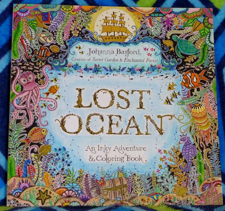 lost ocean colored pages - 1000 images about lost ocean title name page on