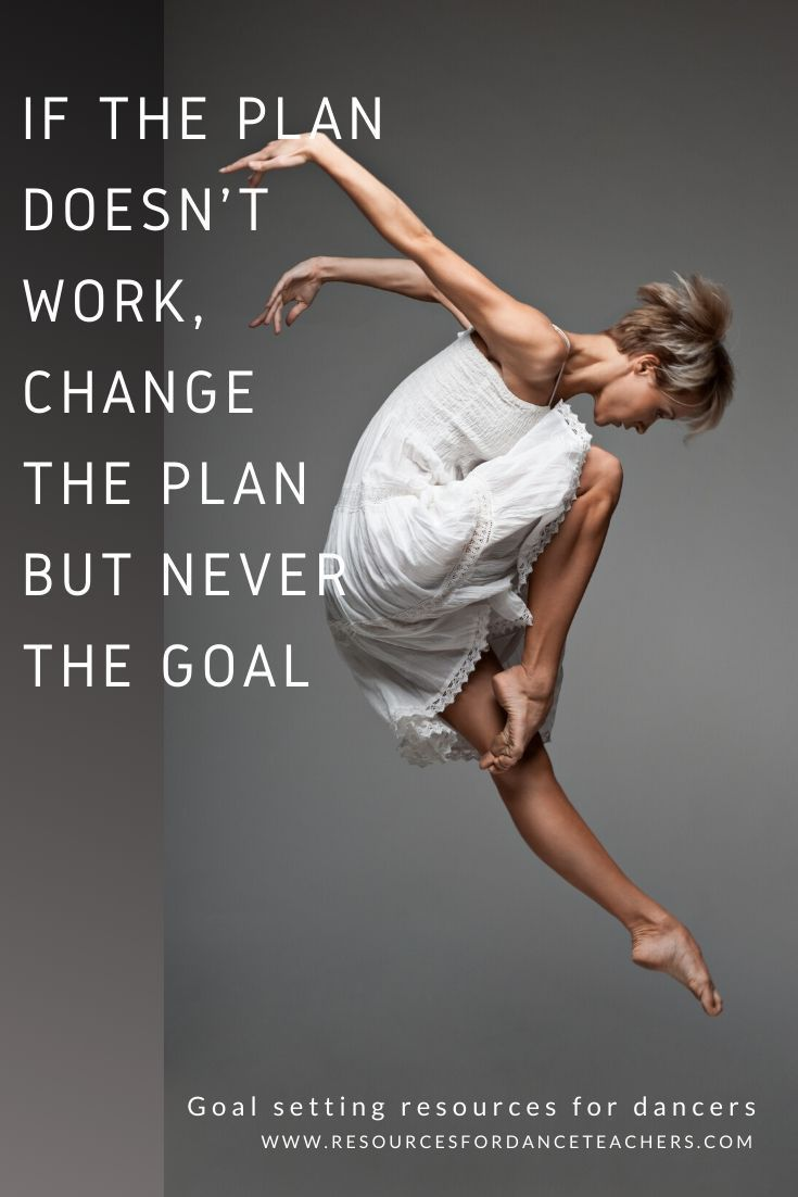 Goal Setting For Dancers Workbook And Printables Dance Quotes Inspirational Dance Teacher Tools Dance Quotes