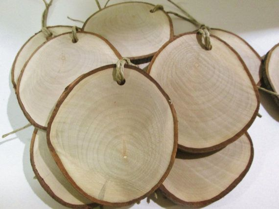 Wood slices 4 craft wood project rustic tree slices for Wood slice craft projects