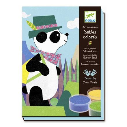 Sandpulver Panda 5+