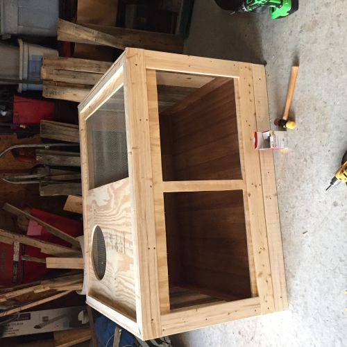 DIY Cage Made From Pallets! Pics up!! • Bearded Dragon . org